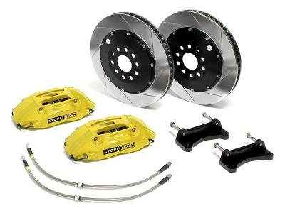 Brakes - Brake Kits - StopTech - Stoptech Front Big Brake Kit Yellow ST40