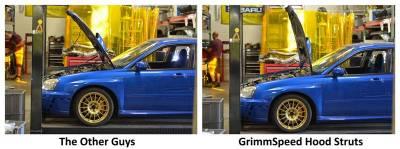 GrimmSpeed - GrimmSpeed Hood Struts - Image 3