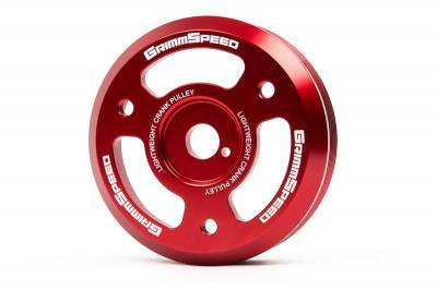 GrimmSpeed - GrimmSpeed Lightweight Crank Pulley - Image 4