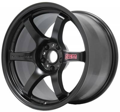 Grams Light - Gram Lights 57DR 18X9.5 +22 5-114.3 SEMI GLOSS BLACK
