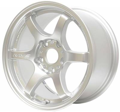 Grams Light - Gram Lights 57DR 18X9.5 +22 5-114.3 SILVER