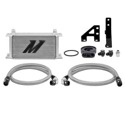 Cooling - Oil Coolers - Mishimoto - Mishimoto Oil Cooler Kit - Silver