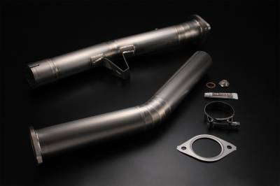 Exhaust Systems - Mid-pipes - Tomei - Tomei Titanium Straight Pipe