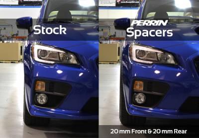 Perrin Performance - Perrin Subaru 5x114.3 20mm Wheel Spacers (One Pair) - Image 4