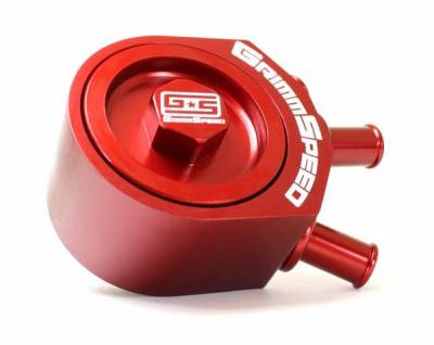 GrimmSpeed - GrimmSpeed Red Air Oil Separator - Image 2