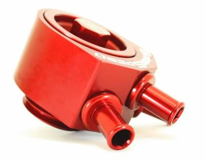 GrimmSpeed - GrimmSpeed Red Air Oil Separator - Image 3