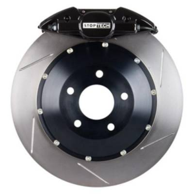 Brakes - Brake Kits - StopTech - Stoptech ST-22 Big Brake Kit Rear 328mm Black Slotted Rotors