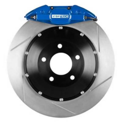 Brakes - Brake Kits - StopTech - Stoptech ST-22 Big Brake Kit Rear 328mm Blue Slotted Rotors