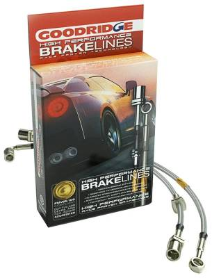 Brakes - Brake Lines - Goodridge - Goodridge Stainless Steel Brake Lines Front/Rear