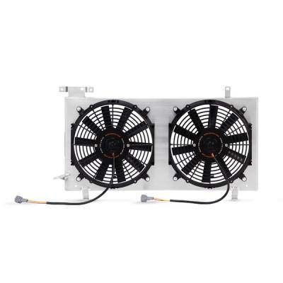 Cooling - Cooling Accessories - Mishimoto - Mishimoto Plug and Play Aluminum Fan Shroud Kit