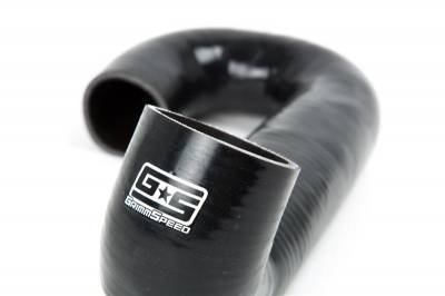 GrimmSpeed - GrimmSpeed Top Mount Intercooler Turbo Outlet Hose Black - Image 3