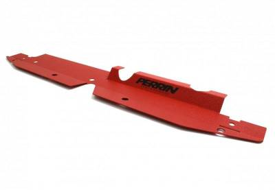 Engine Dress Up - Accessory Caps & Covers - Perrin Performance - Perrin Radiator Shroud Red