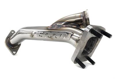 Exhaust Systems - Up-pipes - Perrin Performance - Perrin Rotated Turbo Uppipe