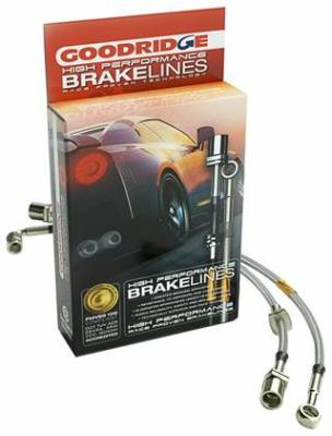 Brakes - Brake Lines - Goodridge - GoodRidge G-Stop Stainless Steel Brake Lines Front/Rear