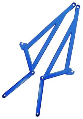Suspension Components - Chassis Bracing - Cusco - Cusco Lower Center Power Brace