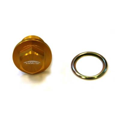 MAINTENANCE - Hardware - Project Kics - KICS Magnetic Oil Drain Plug Bolt M20 x 1.5 Yellow