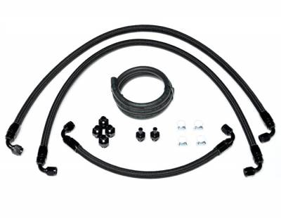Fuel System - Fuel Rails - Injector Dynamics - Injector Dynamics Side Feed Conversion Feed Line Kit