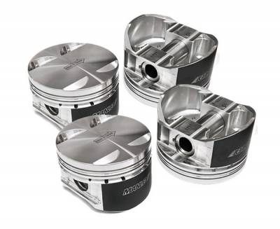 Engine Components - Pistons - Manley Performance - Manley Performance Platinum Series Piston Set 99.5mm 9.8:1