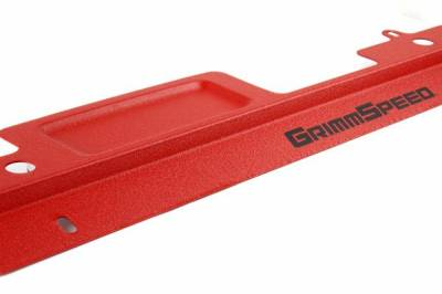 GrimmSpeed - GrimmSpeed Radiator Shroud Red - Image 2