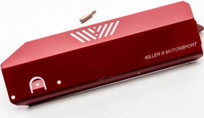 Killer B Motorsport - Killer B Alternator Cover Red