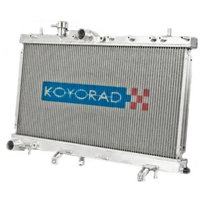 Cooling - Radiators - Koyorad - Koyo Aluminum Racing Radiator Manual Transmission