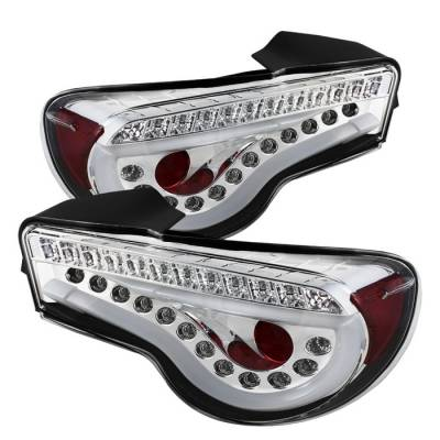 Spyder Auto - Spyder LED BRZ & FR-S Tail Lights Chrome