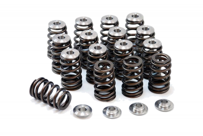 Engine Components - Valvetrain - GSC Power Division - GSC Power-Division Single Beehive Valve Spring Set w/ Titanium Retainers