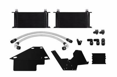 Cooling - Oil Coolers - Mishimoto - Mishimoto Oil Cooler Kit - Black