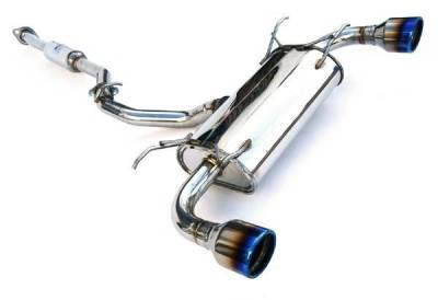 Invidia - Invidia Q300 Rolled Titanium Tip Cat-Back Exhaust