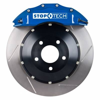 Brakes - Brake Kits - StopTech - StopTech Blue ST-60 Front Big Brake Kit