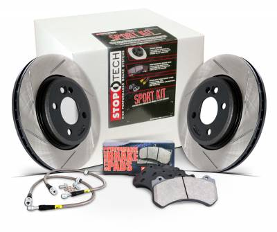 Brakes - Brake Kits - StopTech - Stoptech Sport Kit Slotted Front