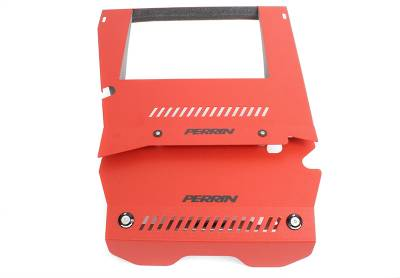 Engine Dress Up - Accessory Caps & Covers - Perrin Performance - Perrin Engine Cover Kit Red