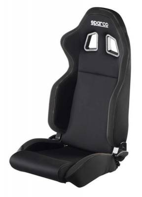 Interior Components - Seats - Sparco - Sparco Seat R100 Black/Black