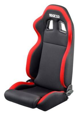 Interior Components - Seats - Sparco - Sparco Seat R100 Black/Red