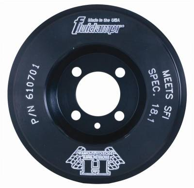 Engine Components - Pulleys - Fluidampr - Fluidampr Damper Crank Pulley