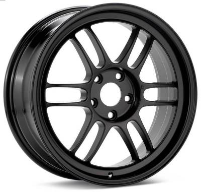 Wheels - Wheels - Enkei - Enkei Black RPF1 17x9 5x100 +48mm