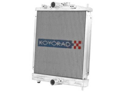 Cooling - Radiators - Koyorad - Koyo Aluminum Racing Radiator (Half Size)