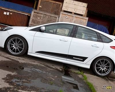 mountune - mountune Dynamic Side Splash Satin Black