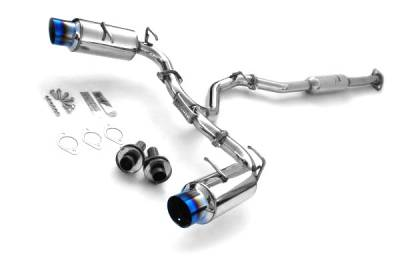 Invidia - Invidia N1 Titanium Tip Cat-Back Exhaust