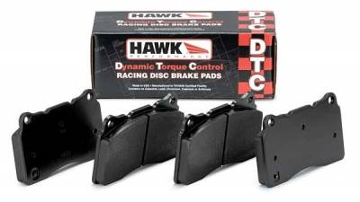 Hawk Performance - Hawk DTC-70 Track Only Pads Front