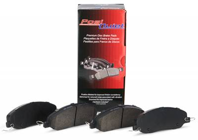 Brakes - Brake Pads - StopTech - Centric Posi Quiet Semi-Metallic Pads Front