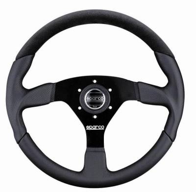 Interior Components - Steering Wheels - Sparco - Sparco Lap 5 Steering Wheel