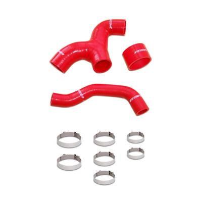 Cooling - Cooling Hoses - Mishimoto - Mishimoto Intercooler Hose Kit Red