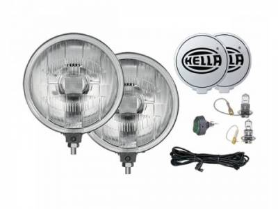 Rally Equipment - Lights - Hella - Hella 500 Series 12V/55W Halogen Driving Lamp Kit