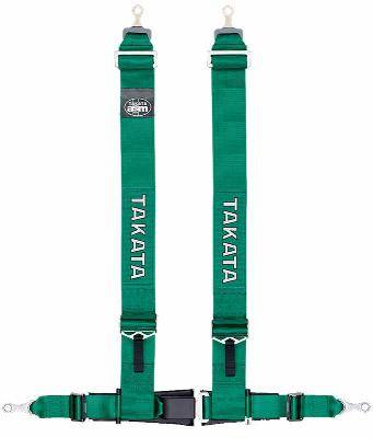 RACING EQUIPMENT - Takata - Takata Drift III ASM Series 4-Point Snap-on Harness