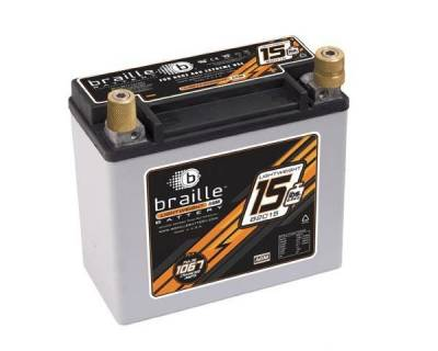 Ignition - Lightweight Batteries - Braille Battery - Braille Lightweight Advanced AGM Racing Battery
