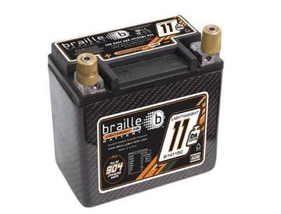 ENGINE - Ignition - Braille Battery - Braille Carbon Fiber Advanced AGM Battery