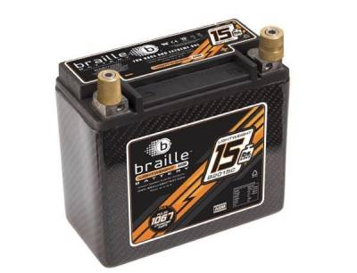 Ignition - Lightweight Batteries - Braille Battery - Braille Carbon Fiber Advanced AGM Battery