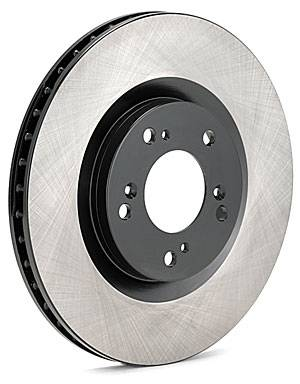 Brakes - Brake Rotors - StopTech - Centric Premium Brake Rotor Single Rear