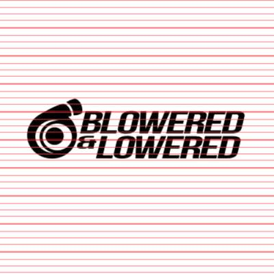 MERCHANDISE - Avery - Blowered & Lowered Decal
